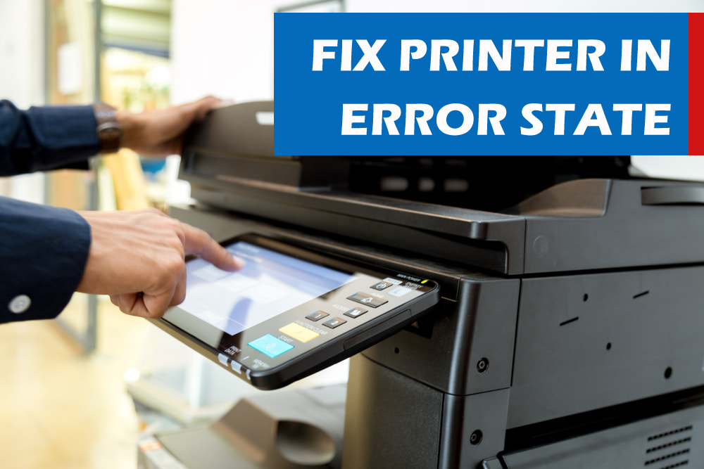 Fix Printer In Error