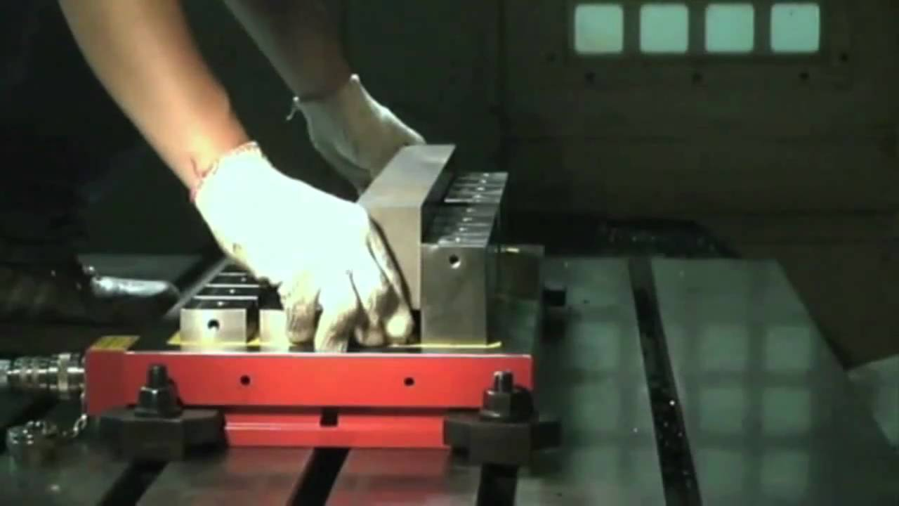 magnetic workholding
